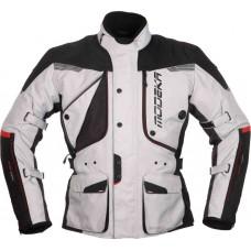Modeka Aeris bunda čierna/svetlo sivá