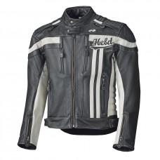 Held Harvey 76 kožená bunda 132 biela/čierna