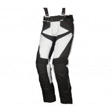 Modeka Lonic nohavice sivo čierne
