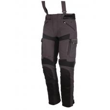 Modeka Tacoma II nohavice šedé/čierne