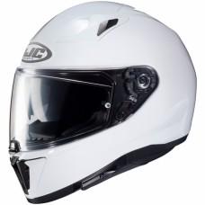 HJC i70 Metal Pearl White
