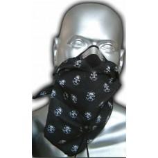 Šatka Respro Bandit - lebky
