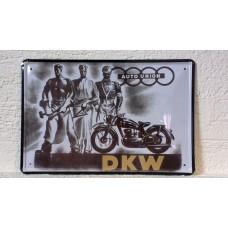 Retro tabuľka DKW Auto union 20x30cm