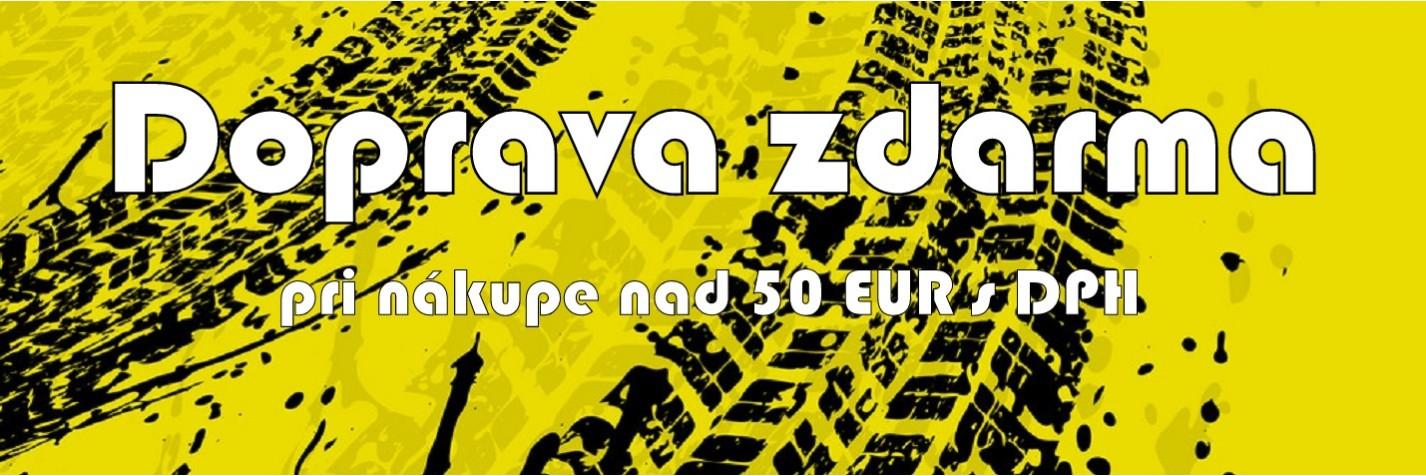 Doprava nad 50 EUR