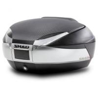SHAD SH48 new titanium + opierka + karbónový kryt + premium lock zámok