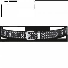 Held Kožený opasok čierny 3561