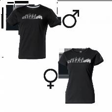 Held tričko čierne 9388 dámske